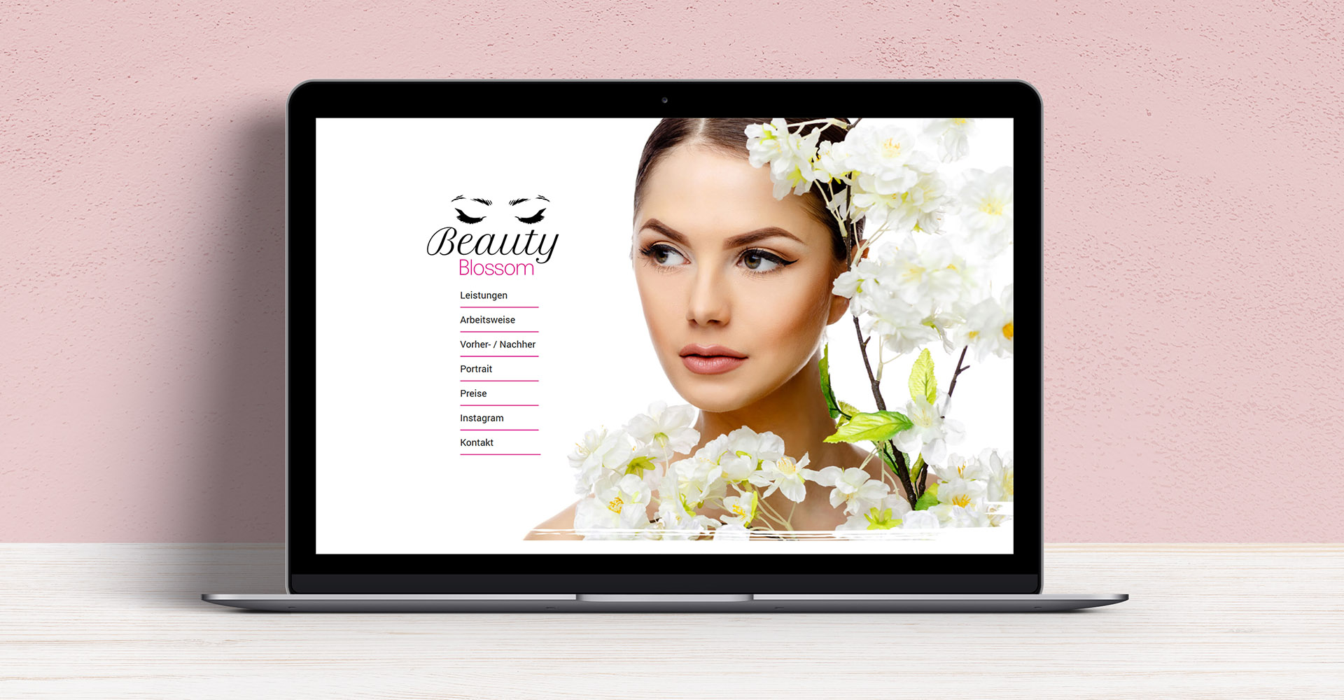 Website Beauty Blossom